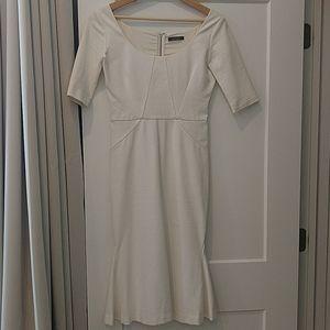 Cream colored Zac Posen dress